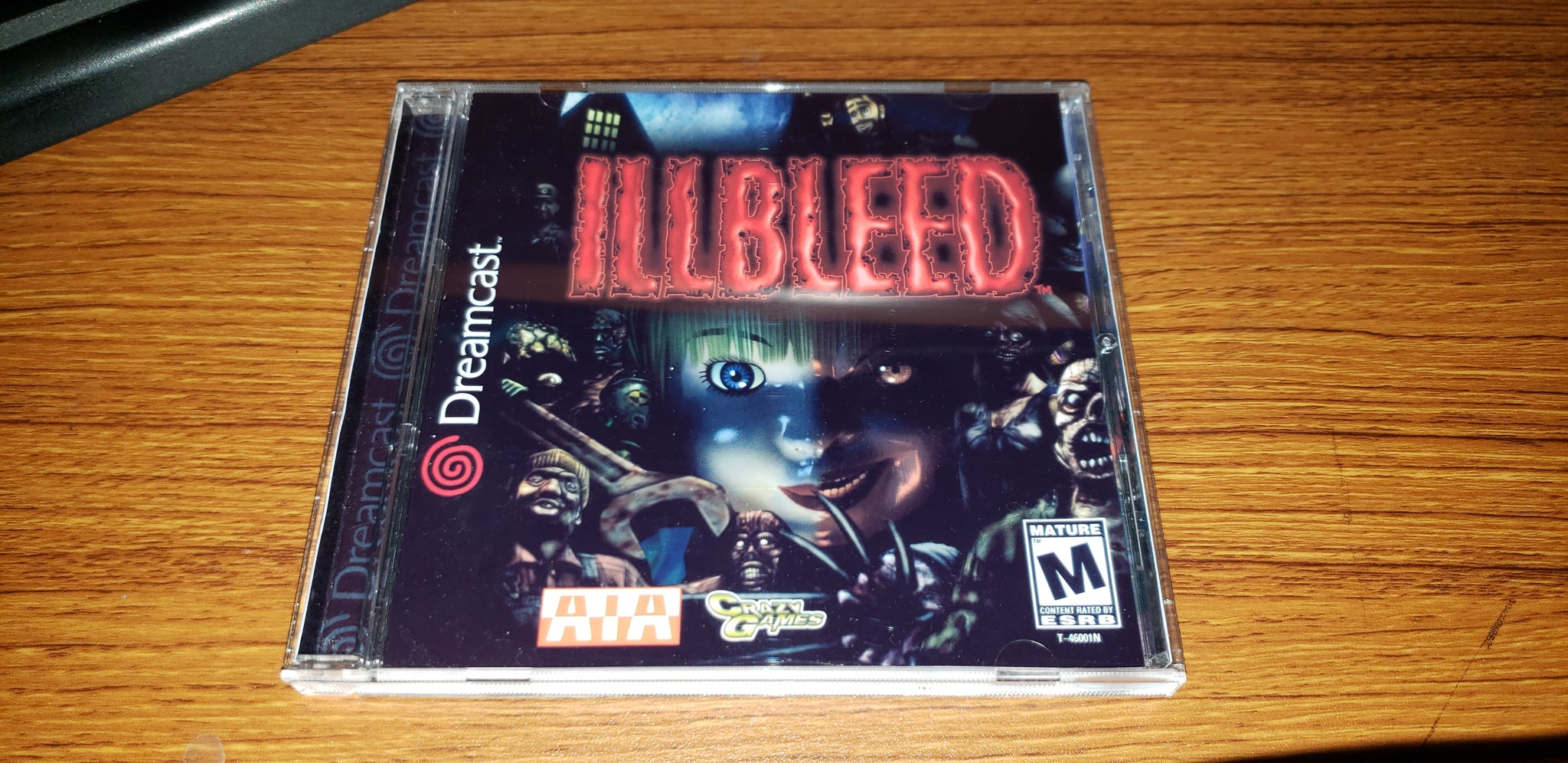 IllBleed Sega Dreamcast Reproduction