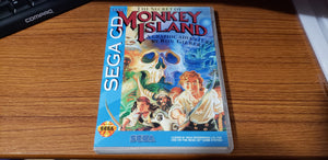 The Secret of Monkey Island Sega CD reproduction