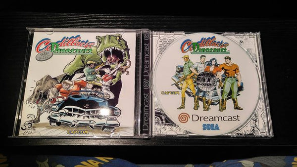 Cadillacs and Dinosaurs Sega Dreamcast reproduction