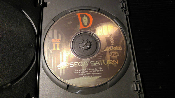 D Sega Saturn Reproduction back up
