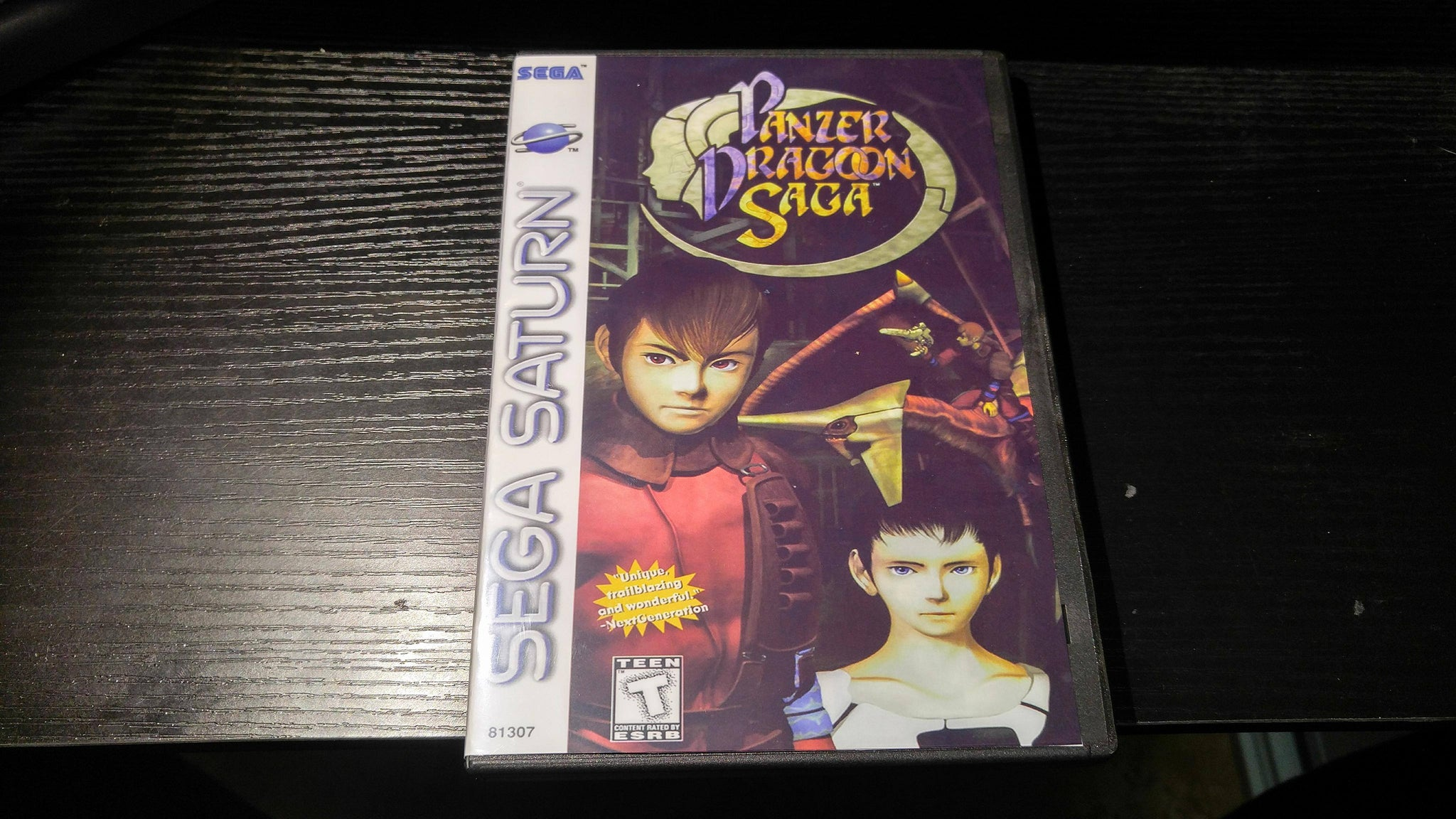 Panzer Dragoon Saga Sega Saturn Reproduction