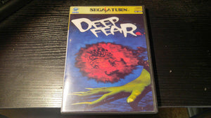 Deep Fear Sega Saturn Reproduction copy