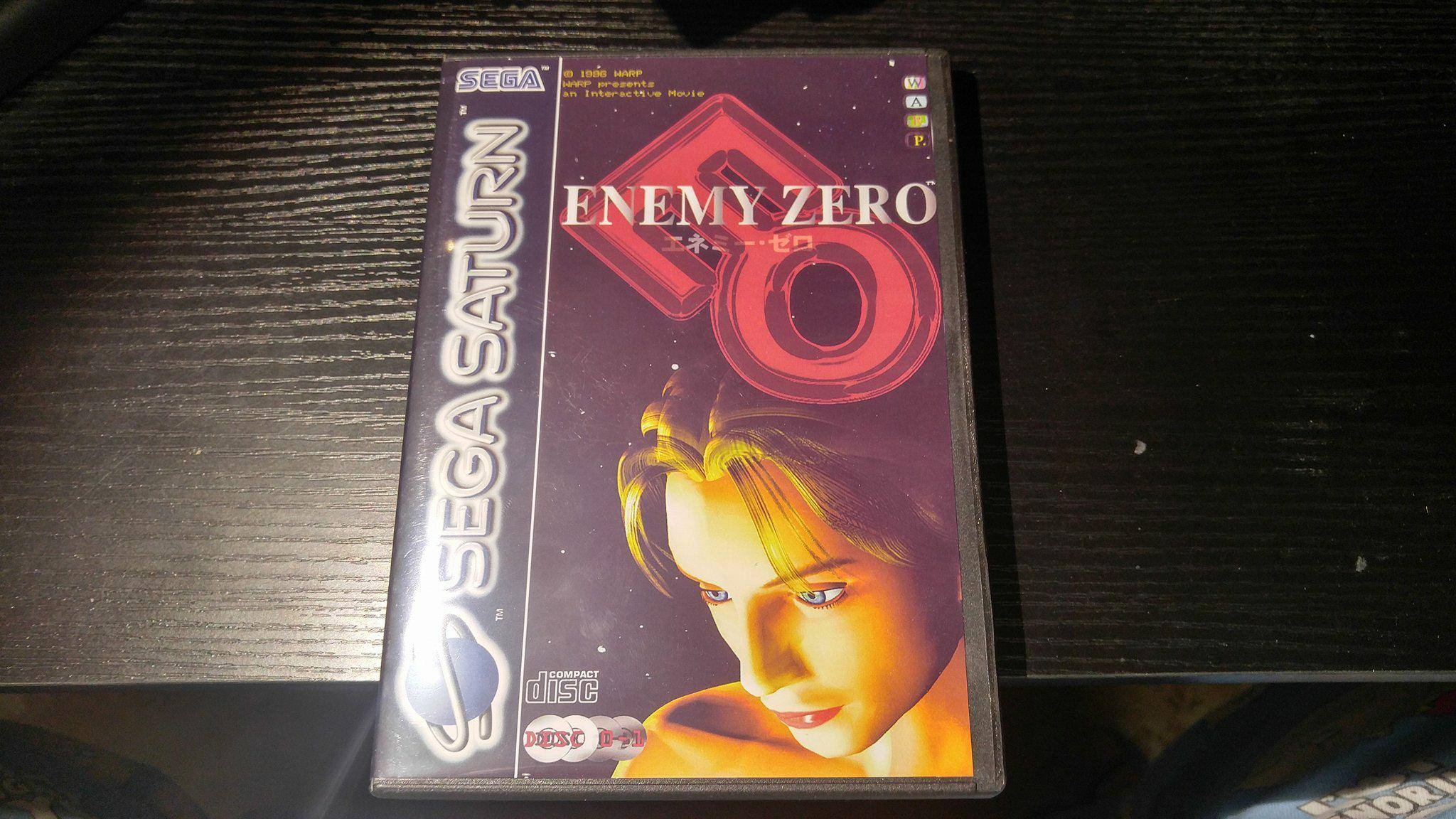 Enemy Zero Sega Saturn Reproduction back up (full English)