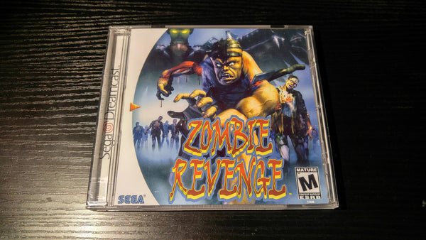 Zombie Revenge Sega Dreamcast Reproduction