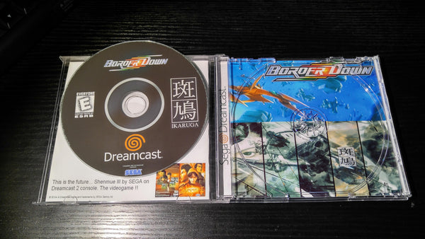 Ikaruga/Border Down 2 in 1 Sega Dreamcast Reproduction