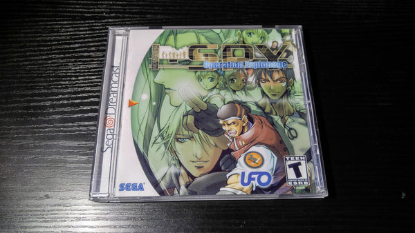 Industrial Spy Operation Espionage Sega Dreamcast Reproduction
