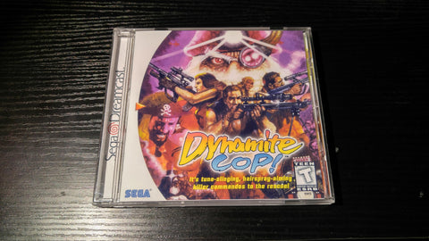 Dynamite Cop Sega Dreamcast Reproduction