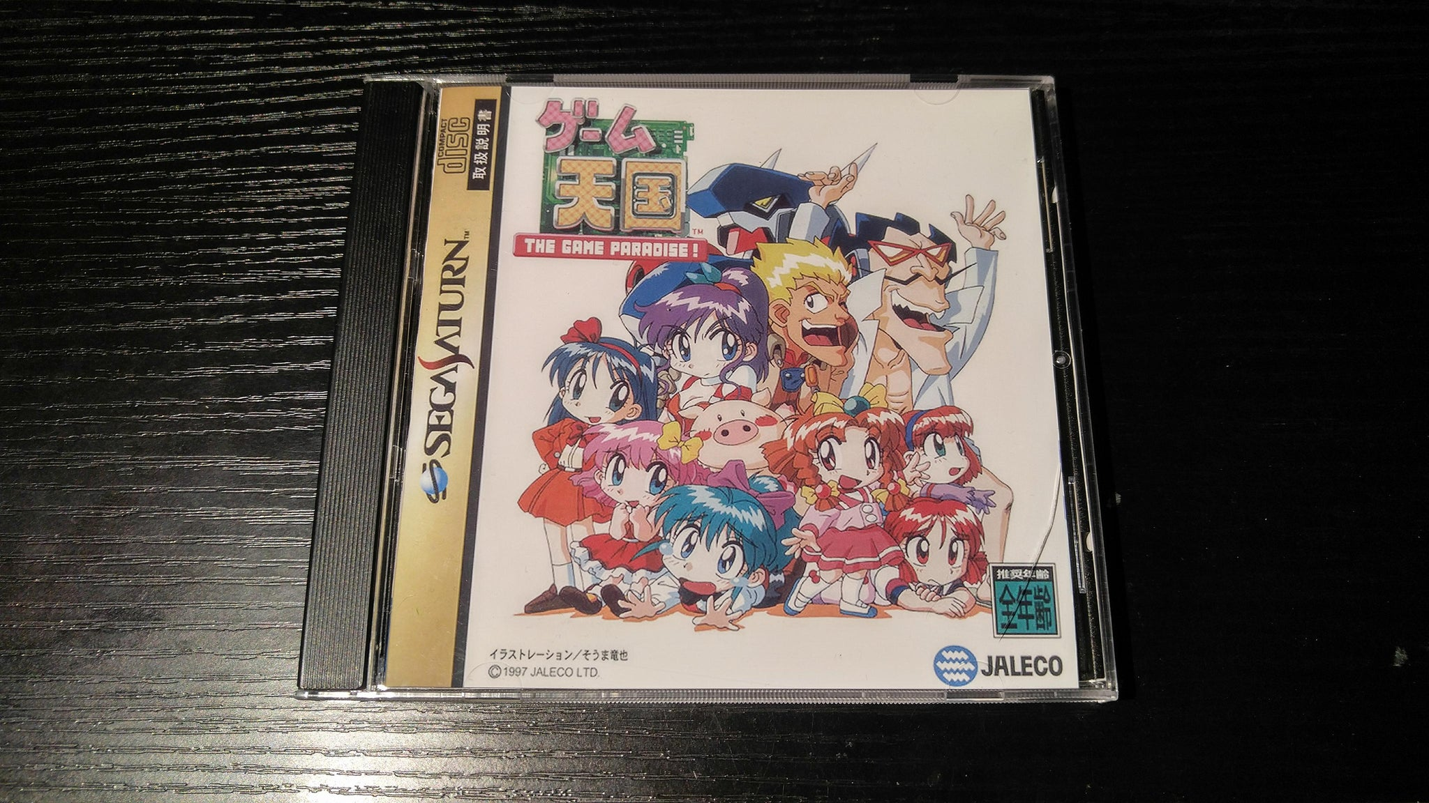 Game Tengoku The Game Paradise reproduction