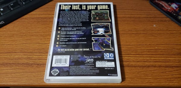 Norse By Norsewest The Lost Vikings 2 Sega Saturn