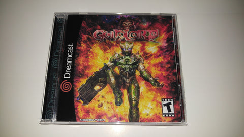Gunlord Sega Dreamcast Reproduction back up