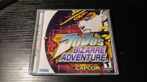 Jojo's Bizarre Adventure Sega Dreamcast reproduction