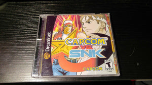 Capcom vs SNK Sega Dreamcast Reproduction