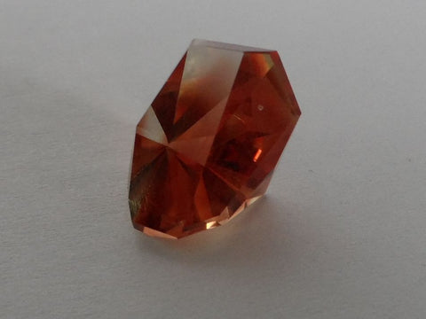 "7.42 CTS OREGON SUNSTONE ""BEST RED/ORANGE"" CUSTOM CUT"