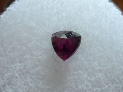 .88 CT. RASPBERRY/PURPLE FANCY TRILLION CUT GARNET - Blaze-N-Gems