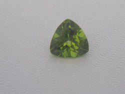2.66 CTS. BEAUTIFUL GREEN TRILLION CUT PERIDOT FROM PAKISTAN
