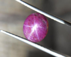 5.70ct NATURAL STAR RUBY CABOCHON - Blaze-N-Gems