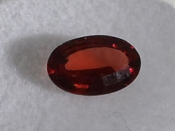 1.37CTS. MONTANA GARNET,CHERRY RED OVAL CUT