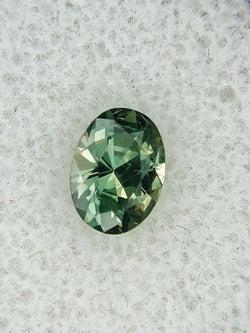1.00ct FOREST GREEN MONTANA SAPPHIRE OVAL