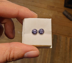 3.1tctw MATCHING PAIR OF COLOR CHANGE MONTANA SAPPHIRES