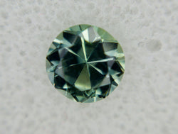 1.3ct BEAUTIFUL GREEN TO TEAL COLOR SHIFT ROUND MONTANA SAPPHIRE
