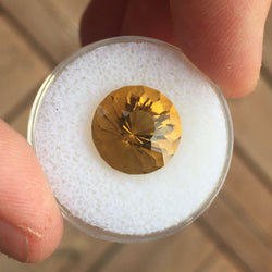 6.54 CT CEYLON CITRINE