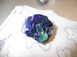59.3ct TOP QUALITY GEM AZURITE VAR. MALACHITE