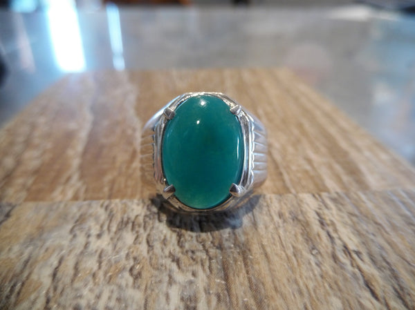 10.8 GEM SILICA RING IN SILVER