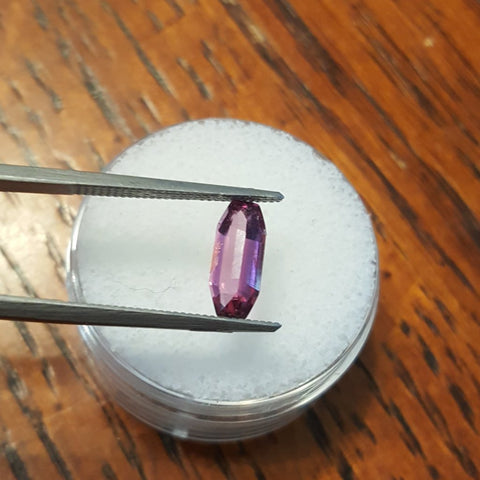 1.33ct LAVENDER PINK/PURPLE ALL NATURAL MONTANA SAPPHIRE - Blaze-N-Gems