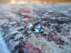 1.17ct GREENISH BLUE MONTANA SAPPHIRE PEAR SHAPE - Blaze-N-Gems