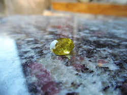 2.17ct MALI GARNET DEEP YELLOW COLOR