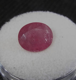 4.22ct GLASS FILLED RUBY - Blaze-N-Gems