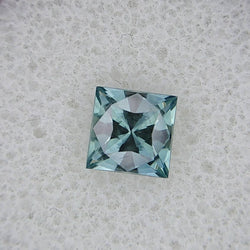 1.60ct PRINCESS CUT MONTANA SAPPHIRE CUT BY MIKE SOEBBING