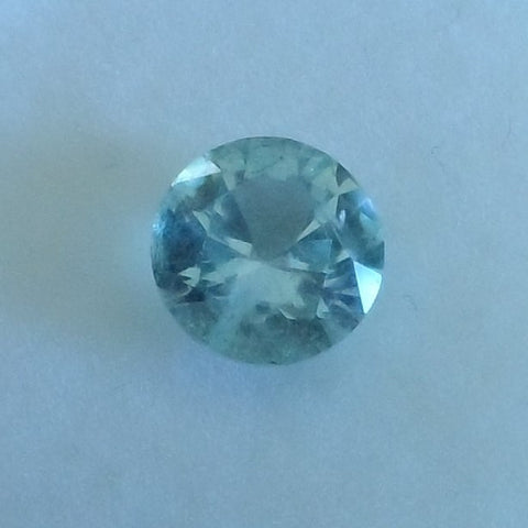 1.36CTS BEAUTIFUL LIGHT BLUE COLOR ROUND CUT MONTANA SAPPHIRE - Blaze-N-Gems