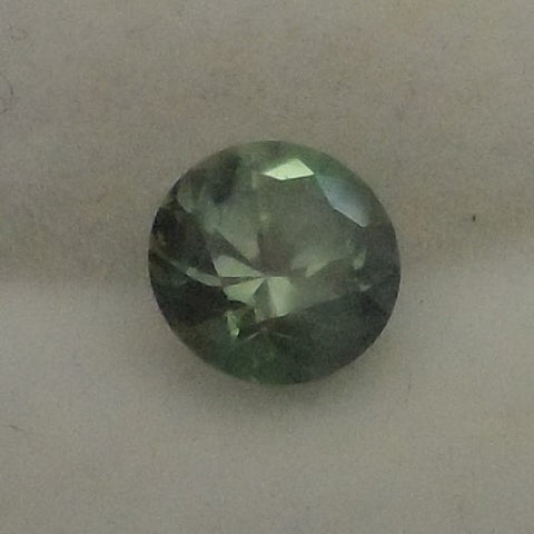 1.13 CTS. GORGEOUS GREEN COLOR ROUND CUT MONTANA SAPPHIRE
