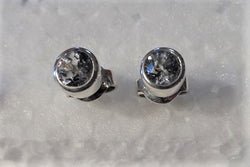 MONTANA SAPPHIRE EARRINGS. 5.2 MMM 1.42 TCW UNHEATED