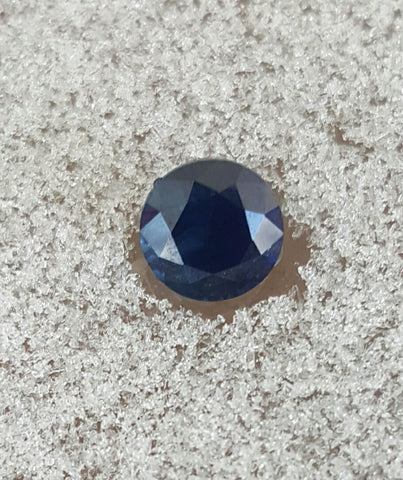 1.32ct INCREDIBLE DARK DEEP BLUE MONTANA SAPPHIRE - Blaze-N-Gems