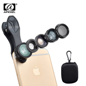 HD Camera Lens Kit 5 IN 1 For iPhone