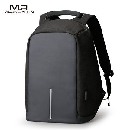 Anti Theft USB Charging Connection Backpack