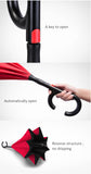 Inverted C-Shaped Umbrella