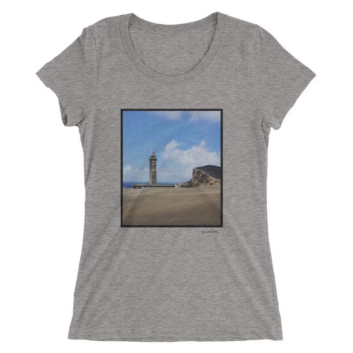 Faial Lighthouse Graphic Tee - Womens