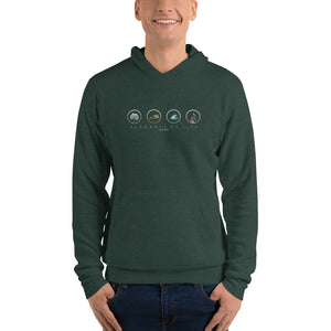 Elements of Life Unisex hoodie - Color Logo
