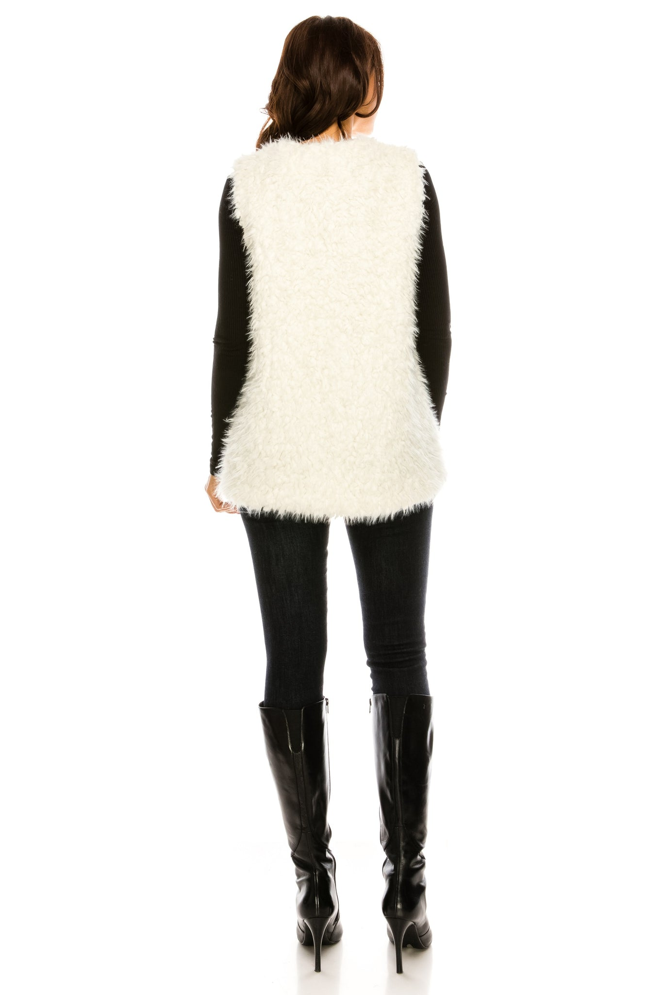 PC-105IV Faux fur vest