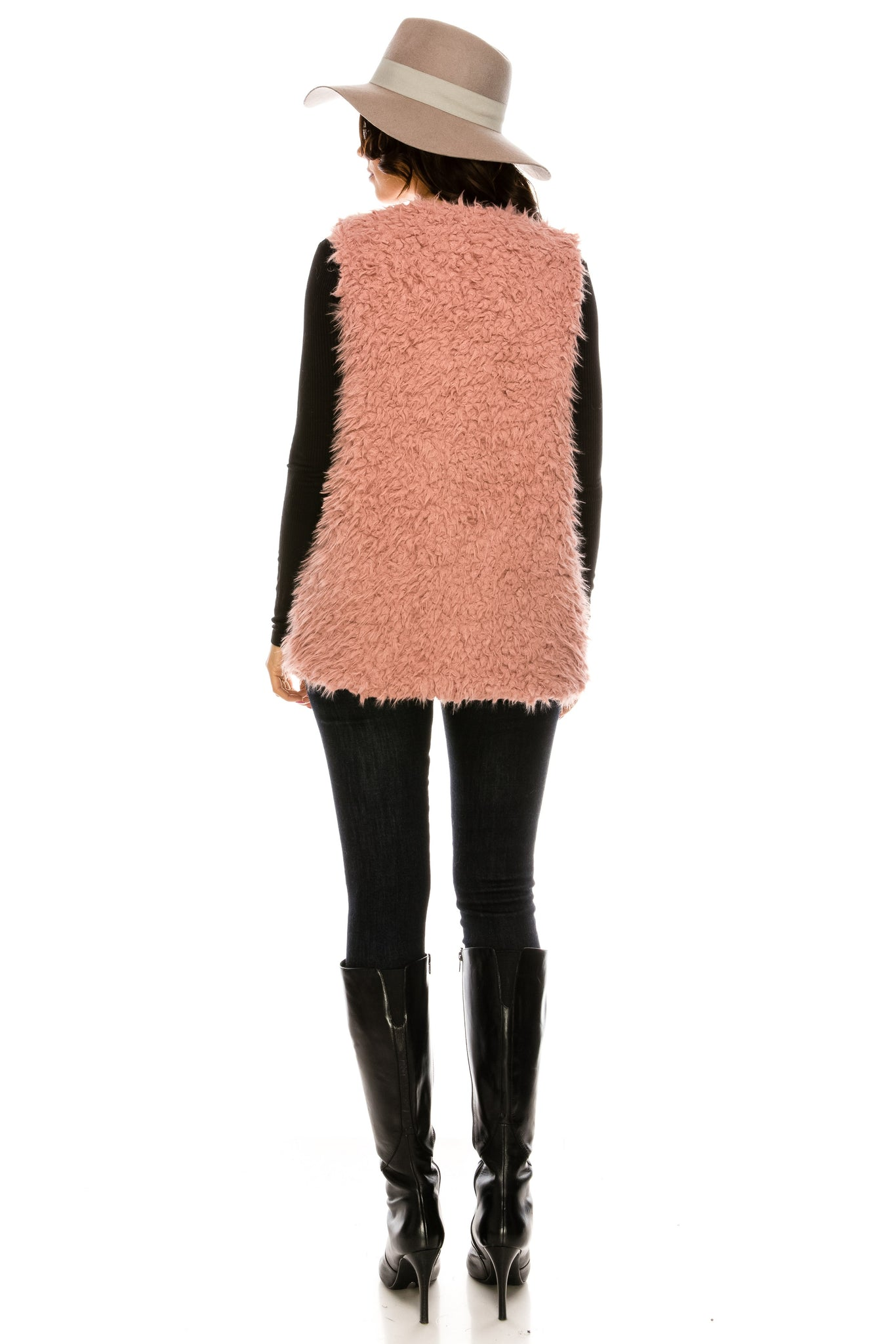 PC-105DP Faux fur vest