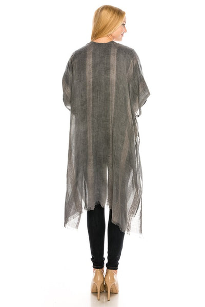 S3871 Vintage Light Weight Cardigan Wrap