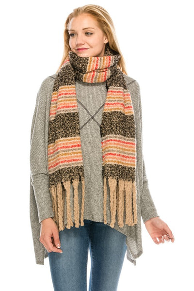 3846 Cozy Stripe Scarf