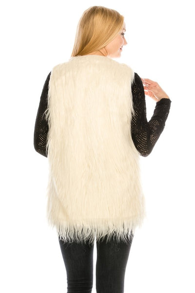 PC100 Faux Fur Vest