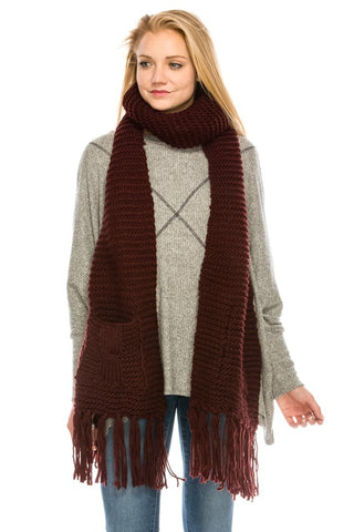 3667 Cozy Knit Scarf