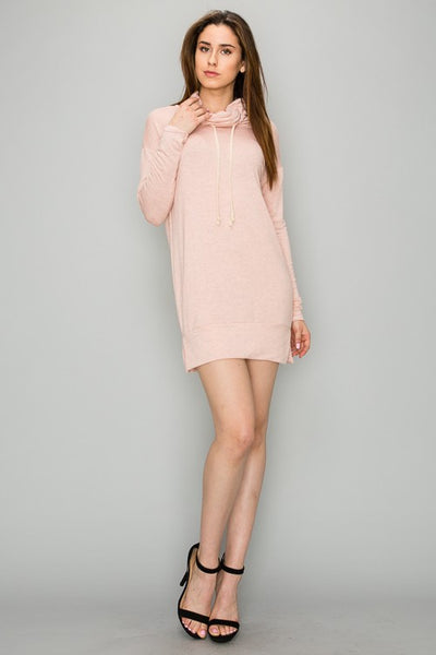 AD1039 Light Weight French Terry Mini Dress