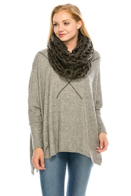 3610 Stay Warm Chunky Knit Scarf