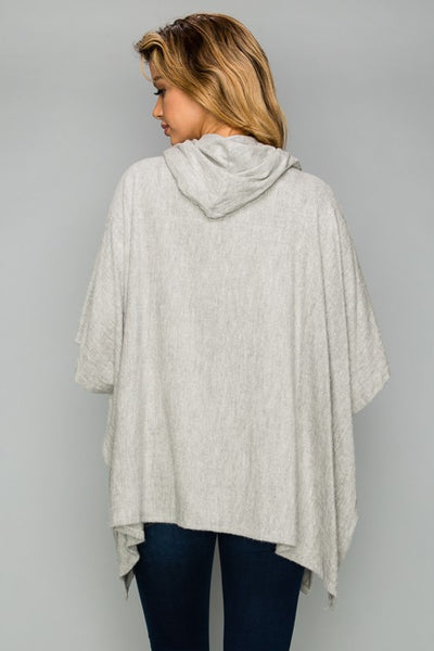AT1001 Super Soft Brushed Cowl Neck Short Sleeve Top